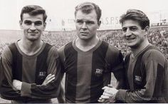 Three Hungarian legends who played for in the late Fc Barcelona, International Football, Soccer World, School Football, Vintage Posters, Nostalgia, Twitter, Legends, Deporte