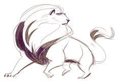 175: Lion Quick Sketch