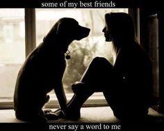 Dog a girl's best friend