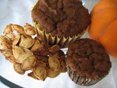 One bowl pumpkin muffins