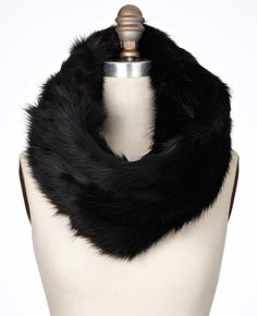 how i want to keep warm this winter!  reversible faux fur scarf