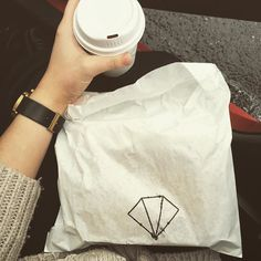 Rainy days  last day of placement call for a toasted sandwich & coffee  @rough_diamond_coffee  #warrnambool by yazholley