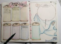 PLANNER PAGES - See this Instagram photo by @intemporelle.creation • 20 likes