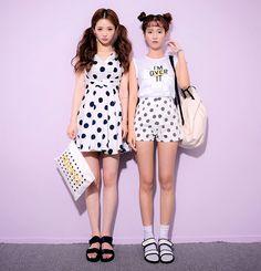 chuu twin look