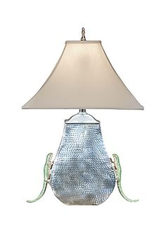 LEAPING LIZZARD LAMP