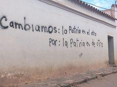Las paredes hablan - La Quiaca