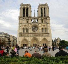 1958 - Notre Dame Cathedral - Paris, France
