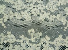 french+lace+tablecloths | Fabulous Vintage French Alencon Lace Placemats Set of Ten