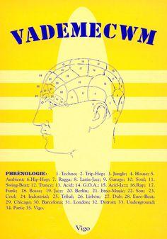 20 de outubro de 1994: INAUGURACIÓN DE VADEMECWM.      - DJ RESIDENTE: JESUS DEL RIO.      Programación mes de decembro:         YELLOW PIXOLIÑAS en directo;      presentación da revista Milenium.