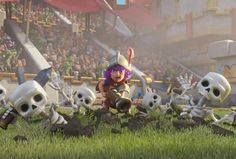 Clash Royale reduces the power of the Night Witch in new balance update