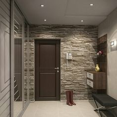 Как вам прихожая? 👍 или 👎 Coridor Design, Wall Design, House Design, House Entrance, Entrance Hall, Entrance Ideas, Living Room Modern, Living Room Decor, Cabinet Closet