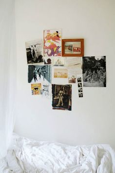 bedroom inspiration wall, collage, home, interiors, white walls Sweet Home, House Rooms, Home Decor Inspiration, Inspiration Boards, Decor Ideas, My Room, Decoration, Living Spaces, Living Room