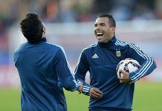 Tevez Oo Si Rasmi Ah Ugu Biiray Boca Juniors