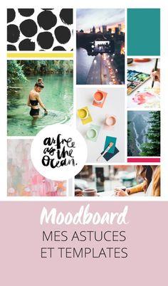 Créer un moodboard: conseils, astuces et templates Photoshop gratuits! Cliquez pour découvrir l'article ou enregistrez l'image pour plus tard!