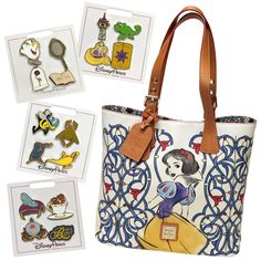 "Snow White Is The Star of the Next ""Dream Big, Princess"" Dooney and Bourke Collection"