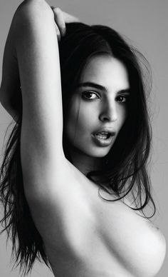 Emily Ratajkowski. Yep, the blurred lines girl. Can't help it.