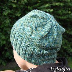 Ugleloftet: DIY Strikkeoppskrift - Basic lue Knitted Hats, Barn, Knitting, Diy, Ideas, Fashion, Moda, Converted Barn, Tricot