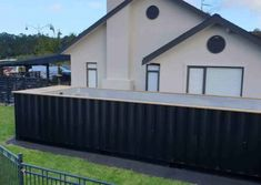 Container pool range and pricing - Container Pools NZ Shipping Container Swimming Pool, Container Pool, Pool Cover Roller, Hardwood Decking, Heat Pump, Pool Designs, Exterior Paint, Swimming Pools, Shed