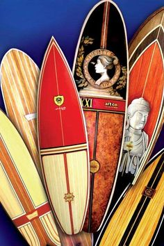 Surf du Jour #beach #surfboards trendhunter.com