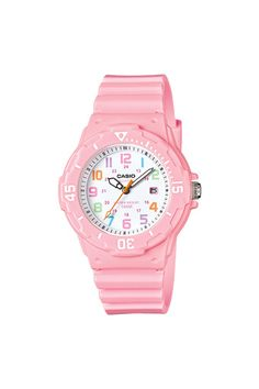 Watches Alexis Sport Womens Rose Gold-tone Accented Digital Chronograph White Resin Strap Watch Kids Kinder Sport