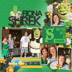 Do you ever travel to that other theme park in Florida looking for some universal fun? Movie Magic is all about the rides and lands at … Parque Universal, Fiona Shrek, Universal Studios Florida, Disney Movies, Family Guy, Baseball Cards, Gallery, Scrapbook Layouts, Scrapbooking