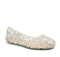 69c8bfab67dc2c Glaze Women Fashion Designer Layered Lines Jelly Ballet Flats     Learn  more by visiting the image link. Divine Treasures Weddings · Wedding Shoes