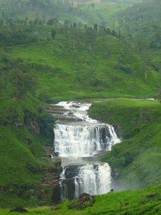 St Clair's Waterfall, Nuwara Eliya, Sri Lanka