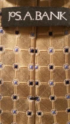 NEW Jos A. Bank Geometric100% Silk Multi Color Classic Men's Neck Tie  #JosABank #NeckTie