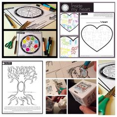 Freebie Printables from a 'social work' counselor perspective therapy activities social workers All printable activity pages in one convenient place…EnJoY! Elementary Counseling, Counseling Activities, Art Therapy Activities, Work Activities, Counseling Worksheets, Elderly Activities, Health Activities, Elementary Art, Play Therapy
