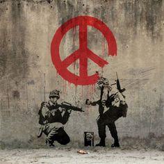 Banksy - Palestine (West Bank) 2005