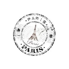 Drevers_stamp_Paris.png ❤ liked on Polyvore featuring text, backgrounds, fillers, words, circle, quotes, effects, magazine, embellishments and doodles