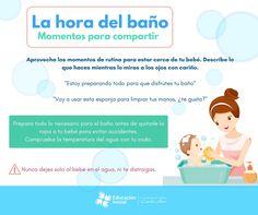 La hora del baño #EstimulaciónOportuna #Mibebe #Relación #Afectividad