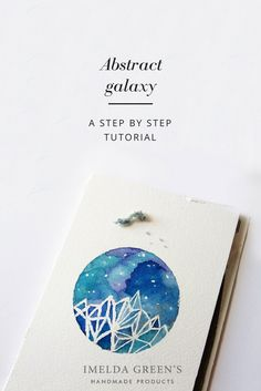 Abstract galaxy - a step by step tutorial