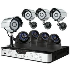 ZMODO 8CH CCTV Security Surveillance DVR System with 4 Sony CCD Outdoor Bullet Cameras and 4 Sony CCD Weatherproof Dome Cameras-No HD by ZMODO. $245.99. Overview The kit KDS8-NARCB44N includes an 8 CH H.264 standalone DVR and eight night vision outdoor security cameras providing everything you need to have your surveillance system up and running in your home or business quickly and easily.    DVR Features * Plug-n-Play * Record: 240 fps * Display: 240 fps * Embedded ...