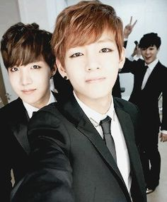 BTS | JHOPE and V, and Jimin :)
