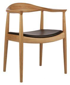 Replica Hans Wegner Round Chair Ash