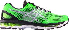 buty do biegania męskie Asics GEL-NIMBUS 17 8501 Flash Green/White/Black