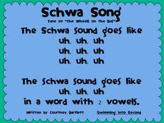Schwa Song (Freebie!)