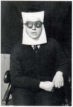 Andre Breton by Man Ray