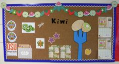 Fruit Kiwi Bulletin Board. Food Hero has lots of healthy recipes at foodhero.org