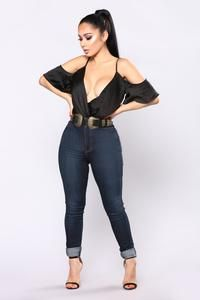 Made You Look Bodysuit - Black