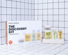 """Youth To The People on Instagram: """"Go on a journey of self-discovery with our [NEW] limited edition Discovery Kit. What's inside? Four of our vegan superfood-powered…"""""""