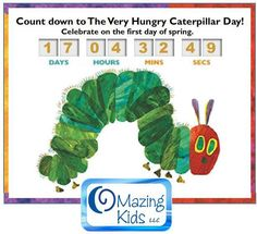 Celebrate Very Hungry Caterpillar Day (the 1st day of spring) with this new lesson plan from OMazing Kids: http://omazingkidsllc.com/2013/03/02/celebrate-the-very-hungry-caterpillar-day-with-kids-yoga/