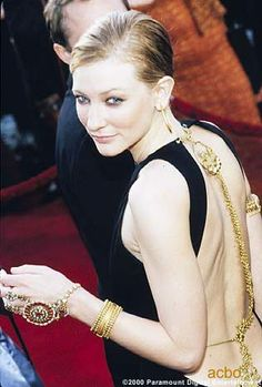 This gown (Cate Blanchett wore it to the 1999 Oscars) is ...
