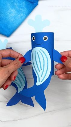 Toddler Arts And Crafts, Fun Crafts For Kids, Craft Activities For Kids, Art For Kids, Paper Animal Crafts, Sea Animal Crafts, Paper Plate Crafts For Kids, Craft Kids, Craft Projects For Kids