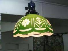 Image result for 切子ガラス ランプ