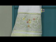 Vida com Arte | Acabamento para toalhas por Maria Angélica - 09 de Setembro de 2015 - YouTube