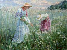 """Cornflowers"" by Alexander Averin"