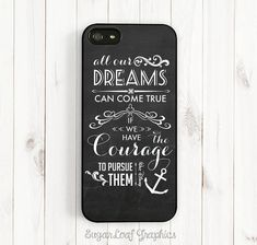 Hey, I found this really awesome Etsy listing at https://www.etsy.com/listing/198837774/dream-quote-iphone-case-walt-disney