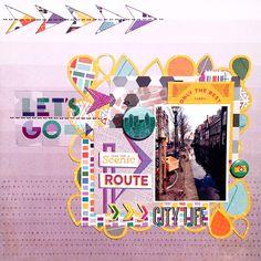City life by Danielle de Konink at @studio_calico